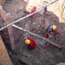 供应河流穿越顶管施工方案,穿越河流泥岩地层长距离顶管施工技术,顶管穿越公路施工方案图片