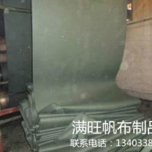 供应帆布生产厂家供应绿帆布涤棉再生劳保用布防潮透气