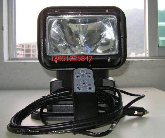 供应智能摇控车载探照灯T5180 强光汽车搜索灯 车载磁力氙气灯