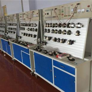 透明液压PLC控制教学实验台图片