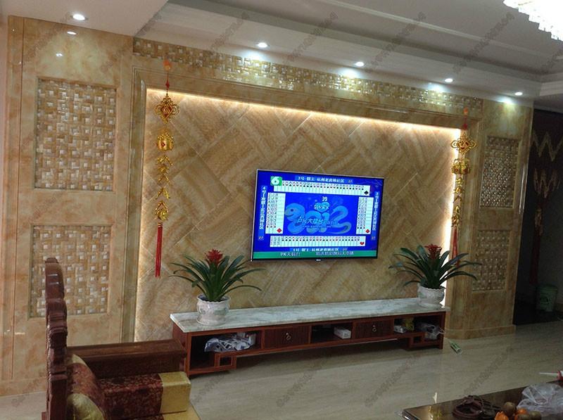 微晶石背景墙