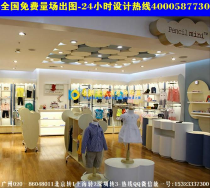 珠海童装店装修效果图韩国童装店装修图高清图片