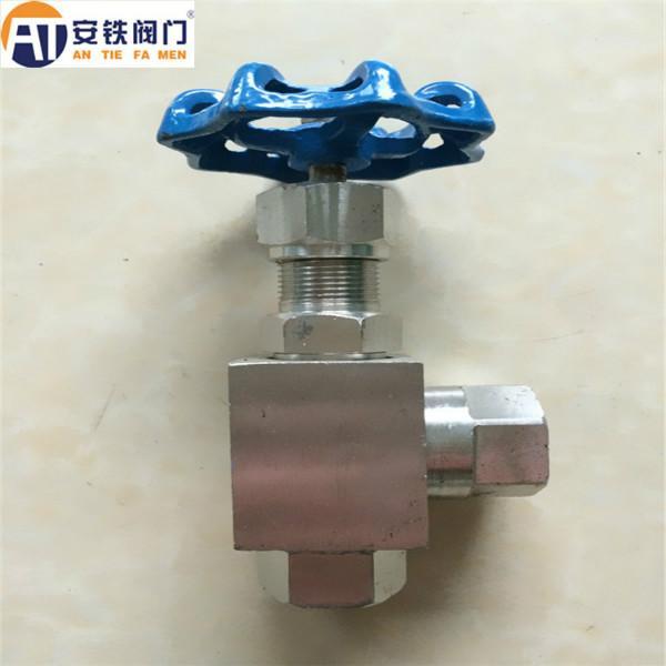 供应j14w内螺纹角式针型阀/角式截止阀图片图片