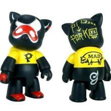 供应暴力熊搪胶模型、【¥4.5】搪胶小熊【10CM高】搪胶公仔【糖胶加工】
