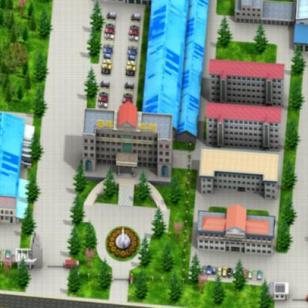 南京市三维地图仿真 三维导航图片