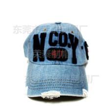 供应休闲牛仔棒球帽铆钉牛仔帽时尚韩版女士牛仔帽定做贴布绣花字母牛仔帽图片