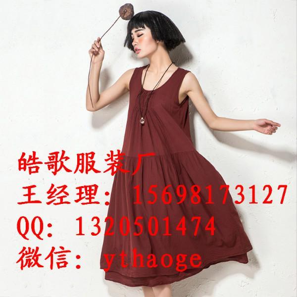 供应郑州世贸商城棉麻女装韩版大码女装 外贸原单女装批发
