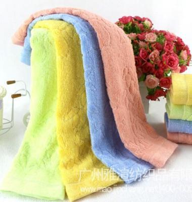 竹纤维熊猫竹子童巾图片/竹纤维熊猫竹子童巾样板图 (2)