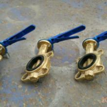 供应无锡黄铜对夹式碟阀