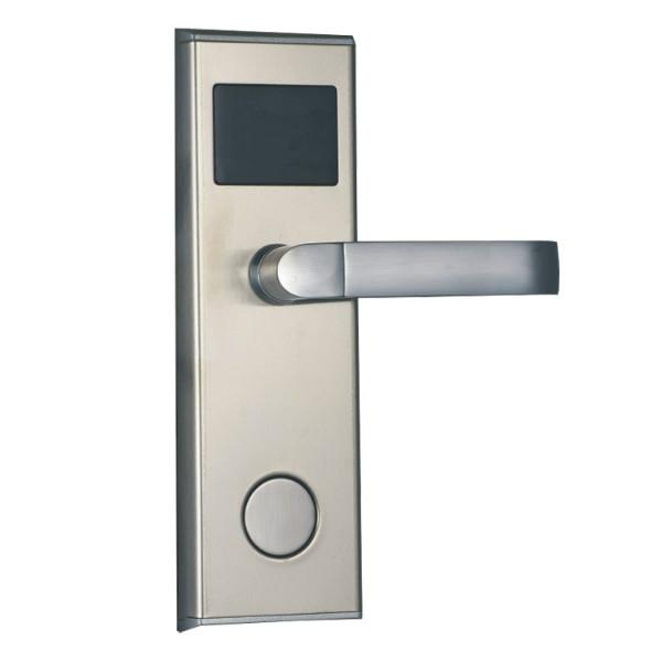 供应感应锁厂家直销爆款刷卡酒店锁宾馆锁无电镀智能磁卡感应门锁批发