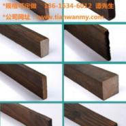 上海表面碳化木规格图片