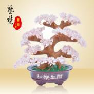 中式时尚特色家居装饰品摆件水晶树图片