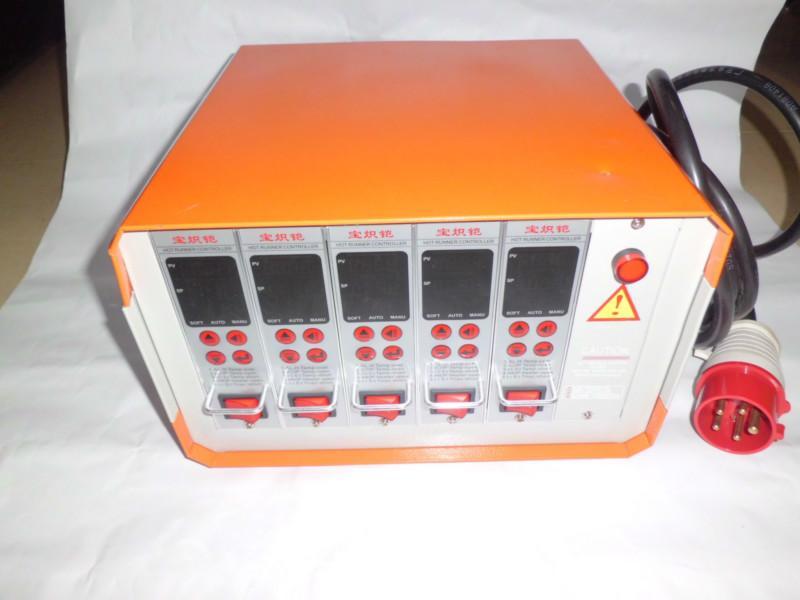供应模具热流道5组插卡式温控箱