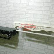 服装店高档欧式木质雕花上墙侧挂图片